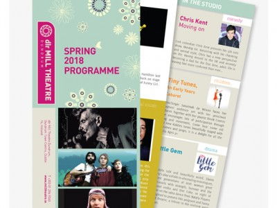 Mill Theatre programme 2018